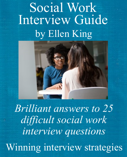 Cover of social work interview guide